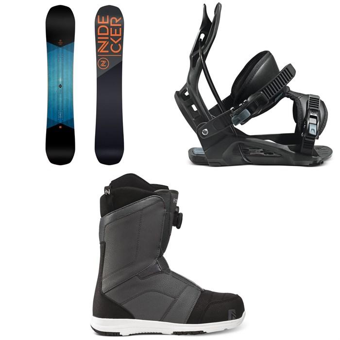 Nidecker - Score Snowboard + Flow Nexus Snowboard Bindings + Nidecker Ranger Boa Snowboard Boots 2021