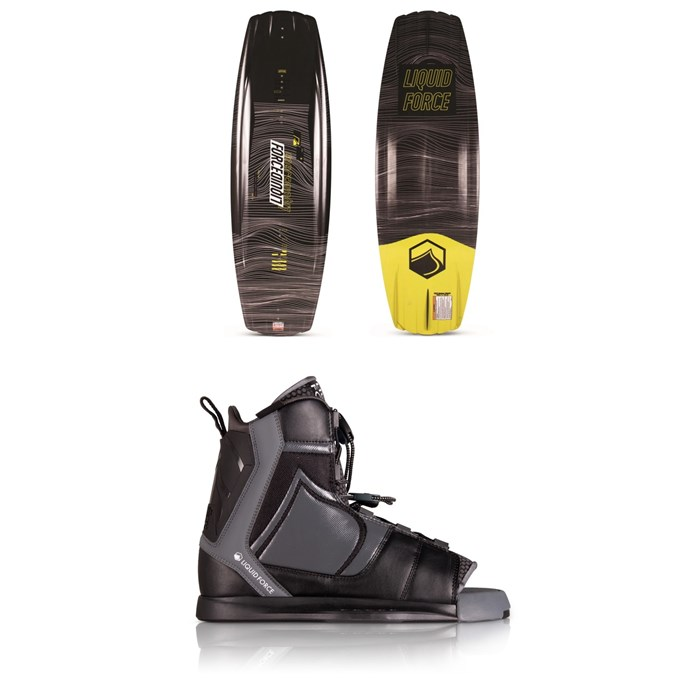 Liquid Force - Classic + Index Wakeboard Package - Blem 2020