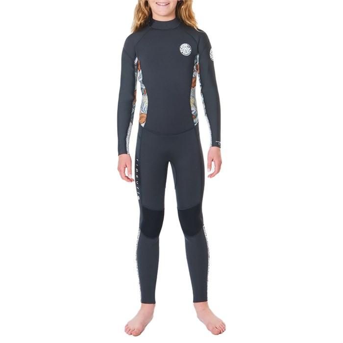 Rip Curl - 4/3 Dawn Patrol Back Zip Wetsuit - Girls'