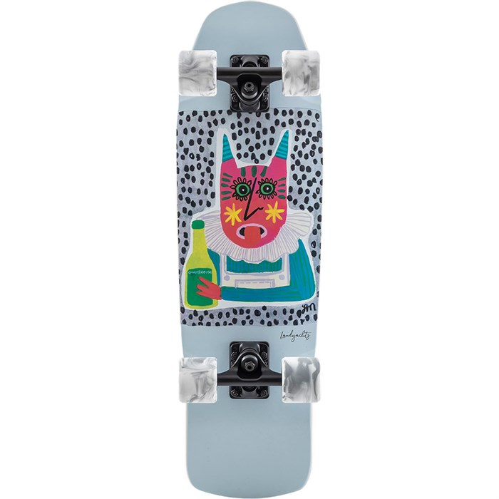 Landyachtz - Dinghy Shape 9 Chartreuse Cruiser Skateboard Complete