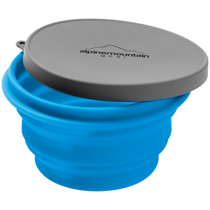 Alpine Mountain Gear - Collapsible Silicone Bowl - Large