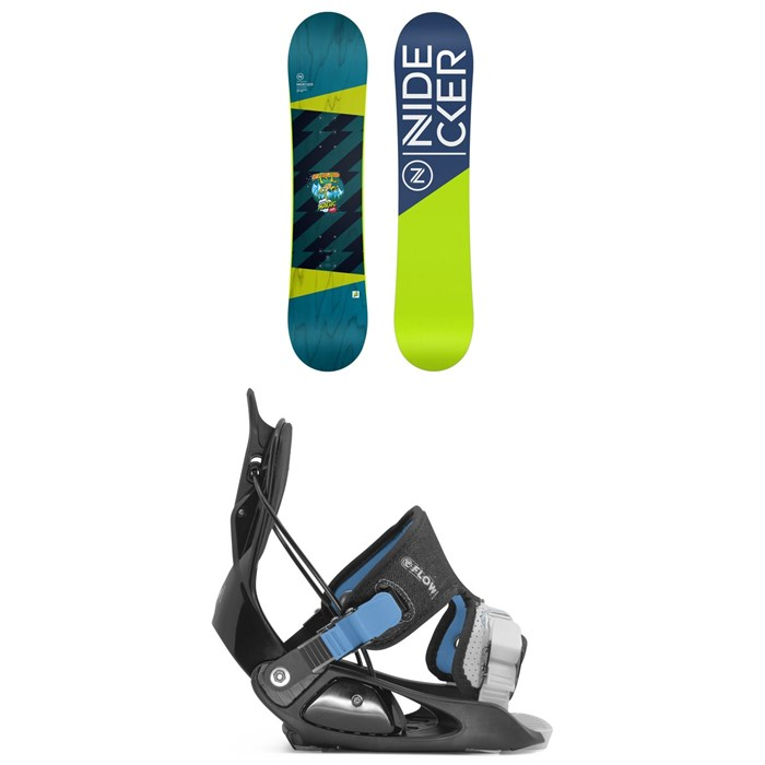 Nidecker - Micron Magic Snowboard + Flow Micron Snowboard Bindings - Little Kids' 2021