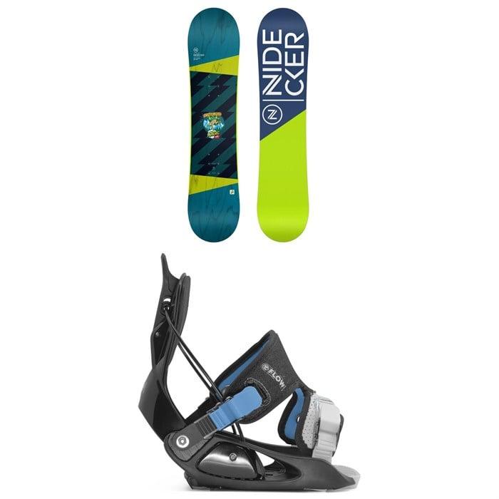 Nidecker - Micron Magic Snowboard + Flow Micron Snowboard Bindings - Little Kids' 2022