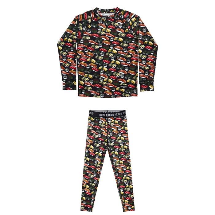 Oyuki - Hitatech Base Layer Top + Pants - Kids'