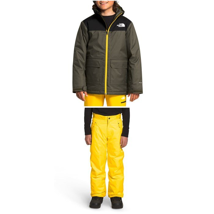 The North Face - Freedom Insulated Jacket + Pants - Boys'