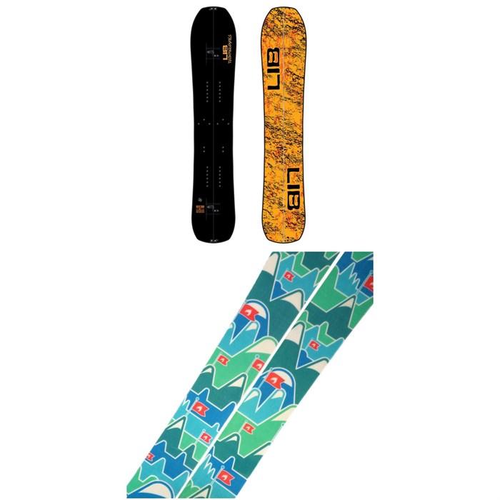 Lib Tech - Split BRD Splitboard 2021 + Spark R&D Summit Skins Splitboard Skins