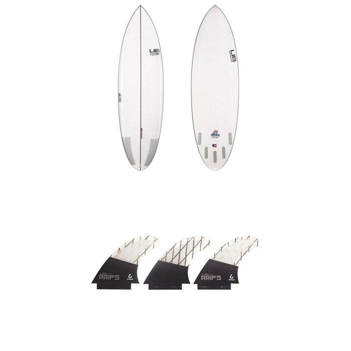 Lib Tech - Nude Bowl Surfboard + Tri Medium Fin Set