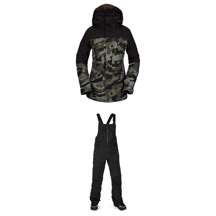 Volcom - Leda GORE-TEX Jacket + VS Stretch GORE-TEX Bibs - Women's