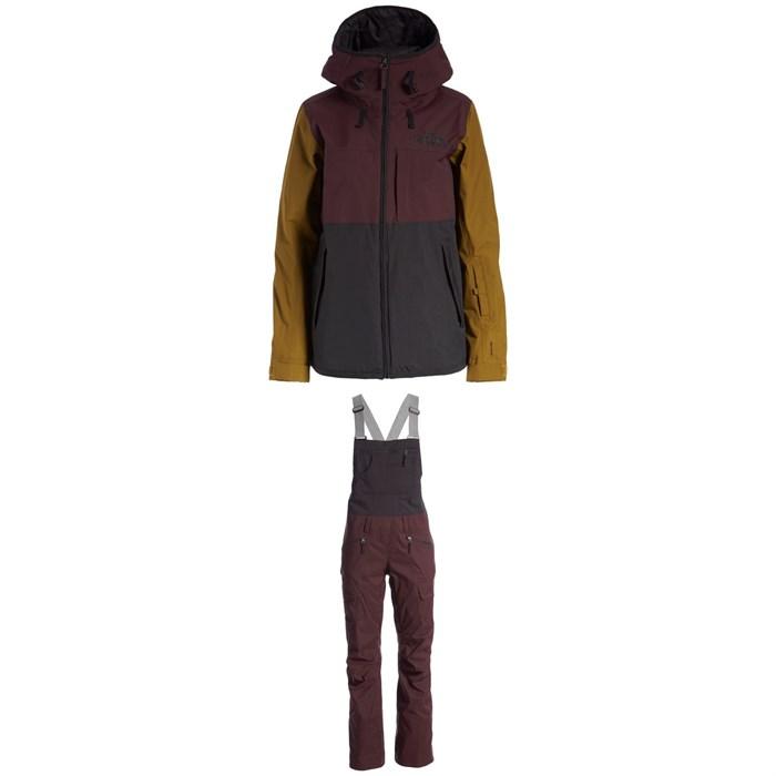 The North Face - Superlu Jacket + Freedom Bibs - Women's