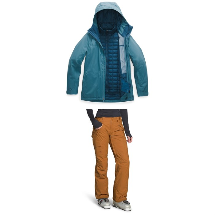 The North Face - ThermoBall™ Eco Snow Triclimate® Jacket + Freedom Insulated Pants - Women's
