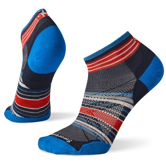 Smartwool - PhD® Run Ultra Light Pattern Low Cut Socks