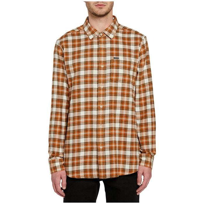 Volcom - Repeater Long-Sleeve Flannel Shirt