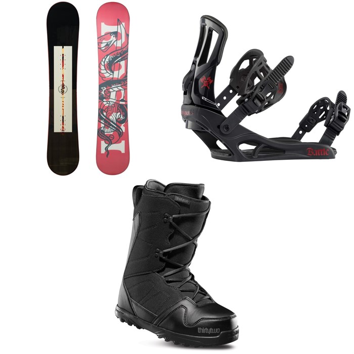 Rossignol - Circuit Snowboard 2021 + Battle Snowboard Bindings 2021 + thirtytwo Exit Snowboard Boots 2020