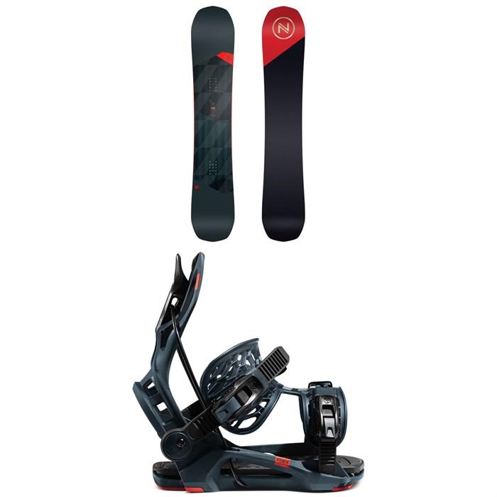 Nidecker - Merc Snowboard + Flow Fenix Snowboard Bindings 2021