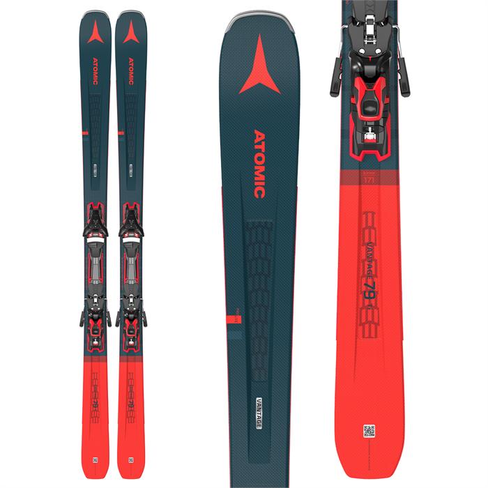 Atomic - Vantage 79 Ti Skis + F 12 GW Bindings 2021