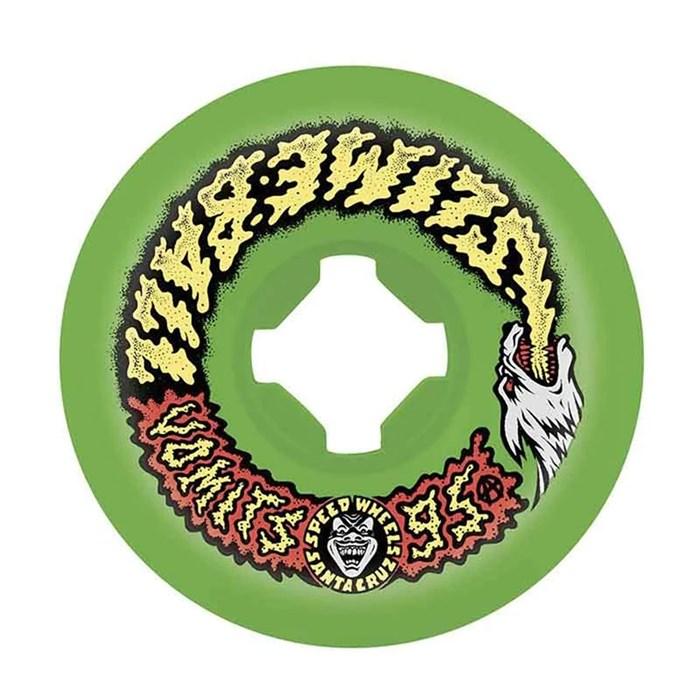 Santa Cruz - Slime Balls Wolf Vomit Speedwheels 95a Skateboard Wheels