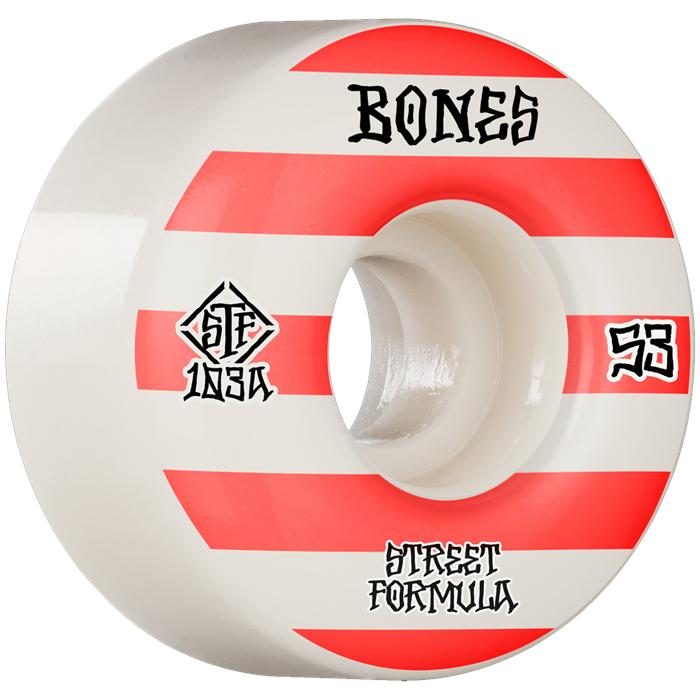 Bones - Patterns STF Wide 103a V4 Skateboard Wheels