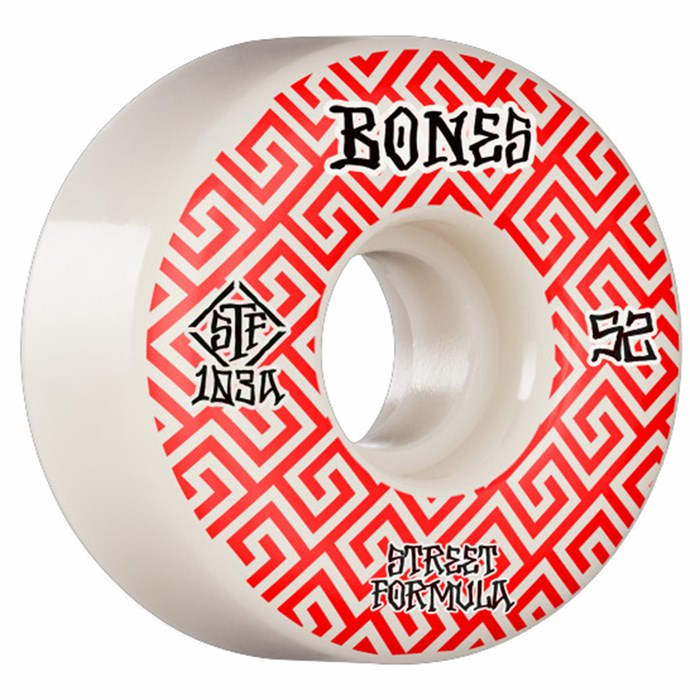 Bones - Patterns STF Locks 103a V2 Skateboard Wheels
