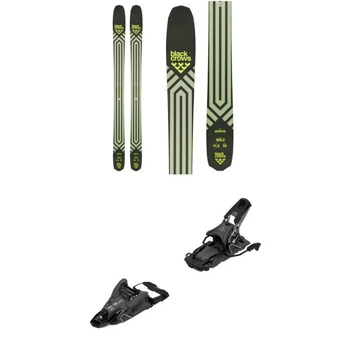 Black Crows - Anima Skis + Salomon S/Lab Shift MNC 13 Alpine Touring Ski Bindings 2022