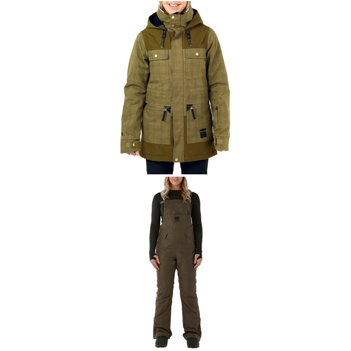 Rojo Outerwear - Aiden Jacket + Snow Day Bibs - Women's