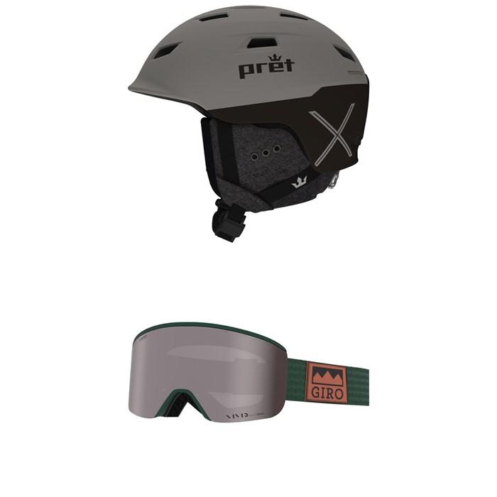 Pret - Refuge X Helmet + Giro Axis Goggles