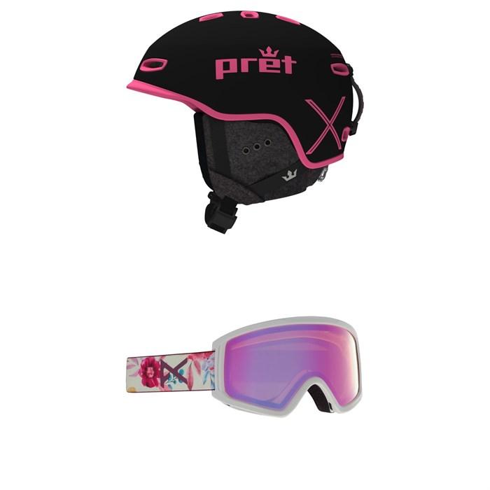 Pret - Ripper X Helmet + Anon Tracker 2.0 Goggles - Kids'