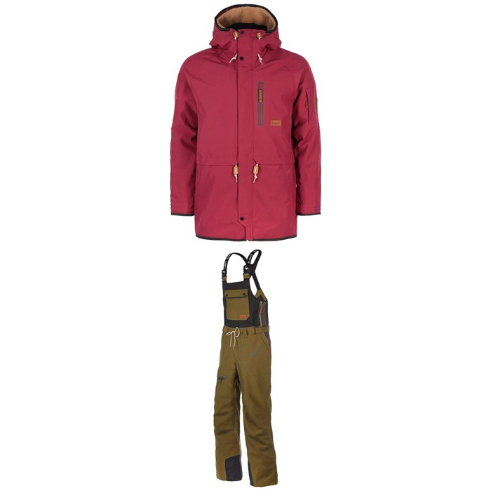 Planks - Clothing People's Parka + Bibs