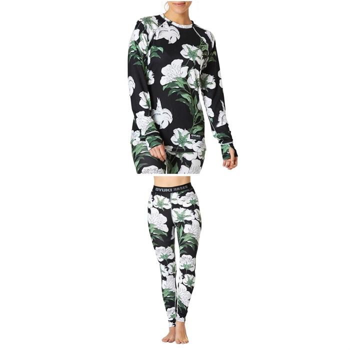 Oyuki - Hitatech Base Layer Top + Pants - Women's
