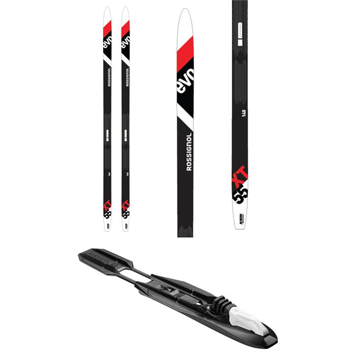 Rossignol - Evo Action 55 Jr Cross Country Skis + Tour Step In Jr Bindings - Big Kids' 2022