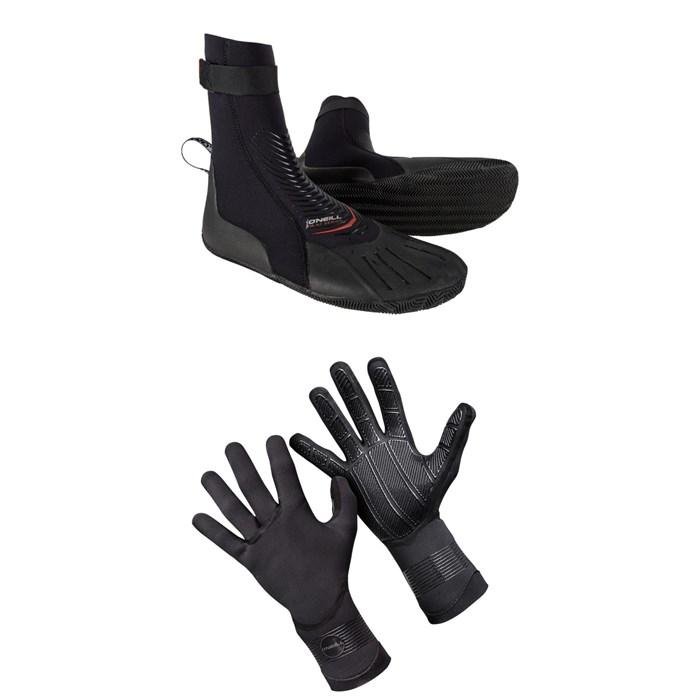 O'Neill - 3mm Heat RT Boots + 1.5mm Psycho Tech Gloves