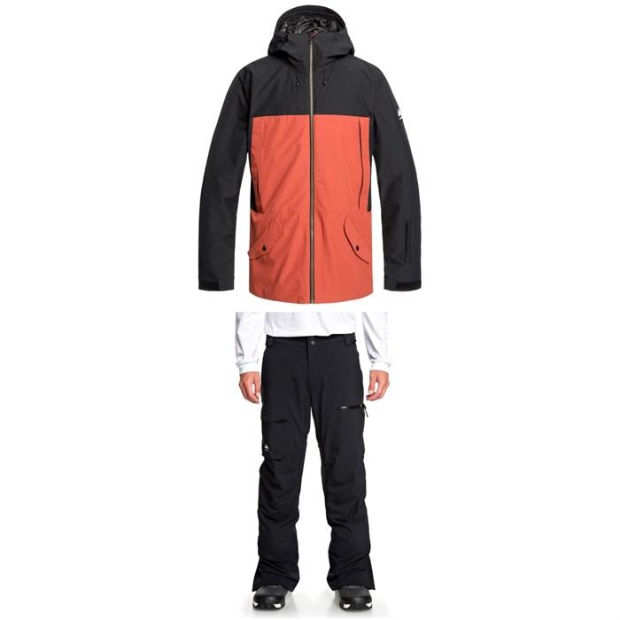 Quiksilver - TR Ambition Jacket + Utility Pants