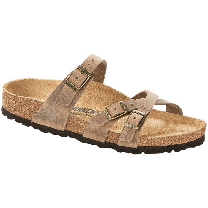 Birkenstock - Franca Oiled Leather Sandals - Women's