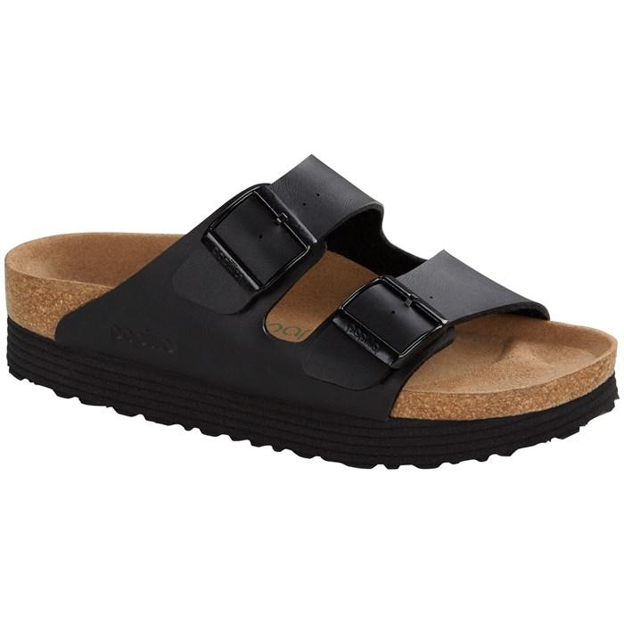 Birkenstock - Arizona Birko-Flor Platform Vegan Sandals - Women's