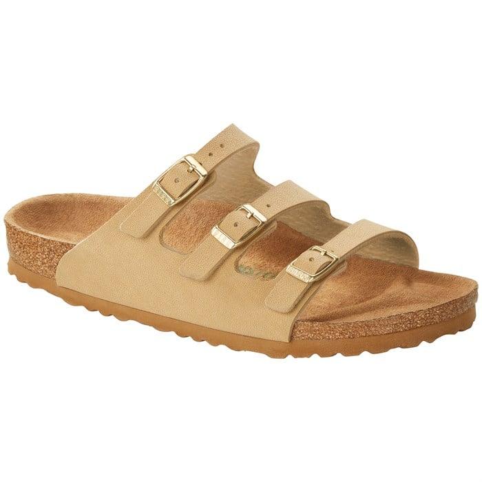 Birkenstock - Florida Birkibuc Vegan Sandals - Women's
