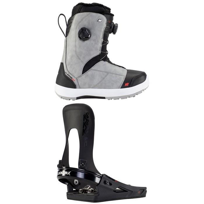 K2 - Kinsley Clicker X HB Snowboard Boots + K2 Clicker X HB Snowboard Bindings - Women's 2021