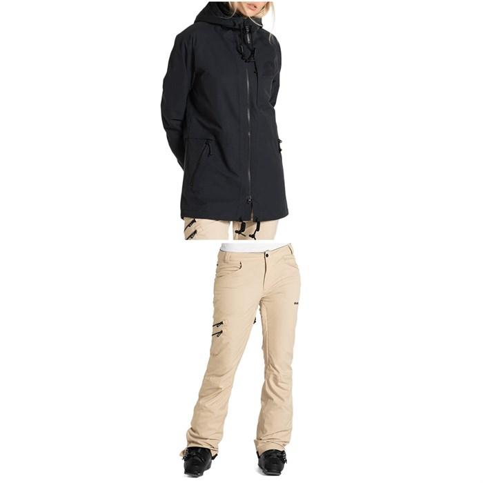 Armada - Gypsum Jacket + Whit Pants - Women's 2021