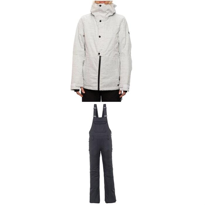 686 - Rumor Insulated Jacket + Black Magic Insulated Bibs - Women's