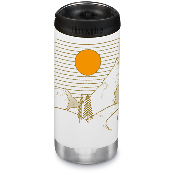 Klean Kanteen - 12oz TKWide Insulated Bottle with Cafe Cap