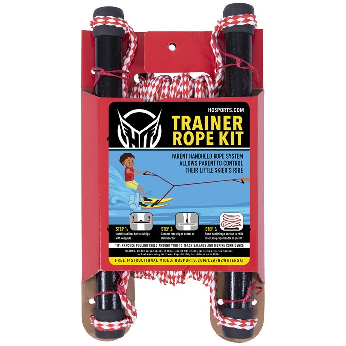 HO - Hot Shot Trainer Waterskis + Bar and Rope - Kids'