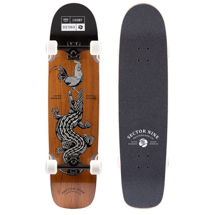 Sector 9 - Rooster Sweeper Longboard Complete