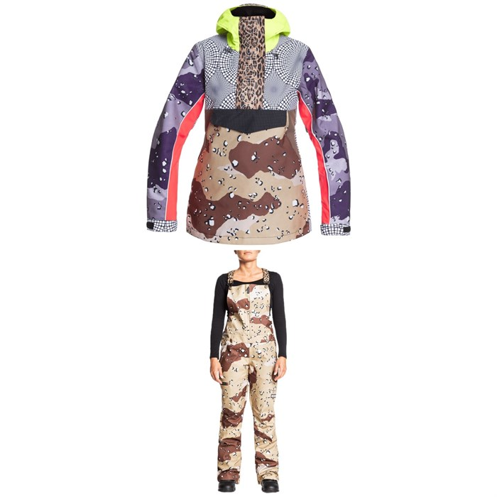 DC - Envy Anorak SE + Collective Bibs - Women's