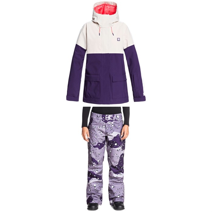 DC - Cruiser Jacket + Nonchalant Pants - Women's