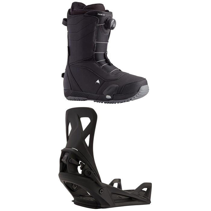 Burton - Ruler Step On Snowboard Boots + Step On Snowboard Bindings 2021