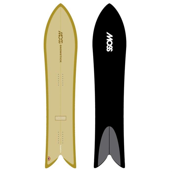 Moss Snowstick - Performance Quad 54 Snowboard 2021
