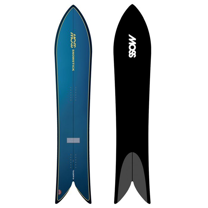 Moss Snowstick - Performance Quad 60 Snowboard 2021