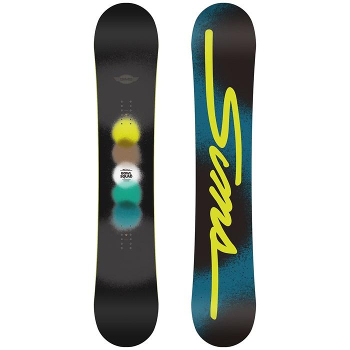 Sims - Bowl Squad - Black Snowboard 2021