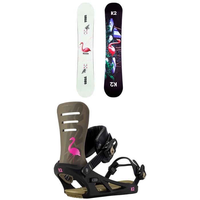 K2 - Medium Snowboard + Formula Snowboard Bindings 2021