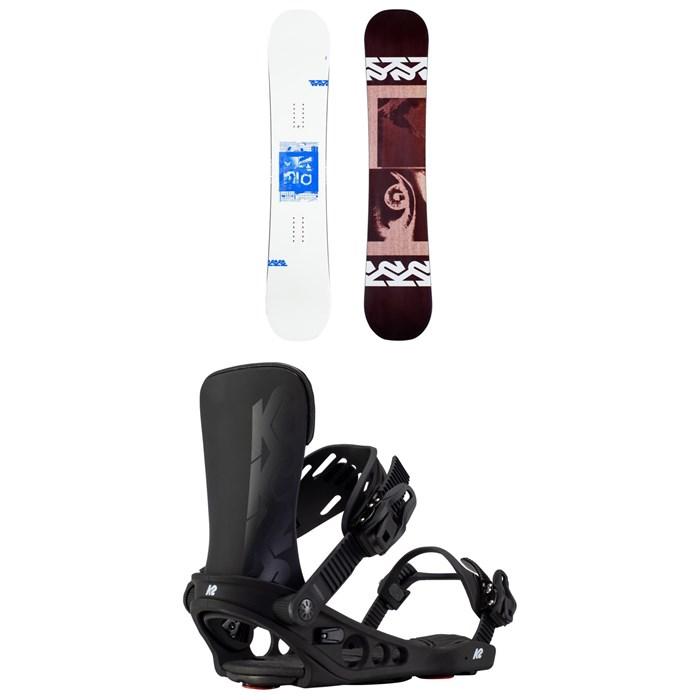K2 - Spellcaster Snowboard + Meridian Snowboard Bindings - Women's 2021