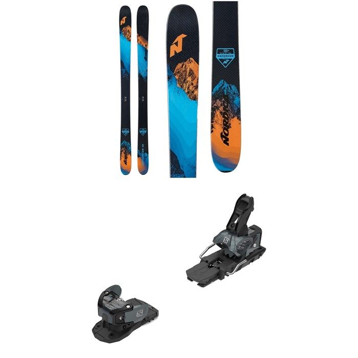 Nordica - Enforcer Free 104 Skis + Salomon Warden MNC 13 Ski Bindings 2021