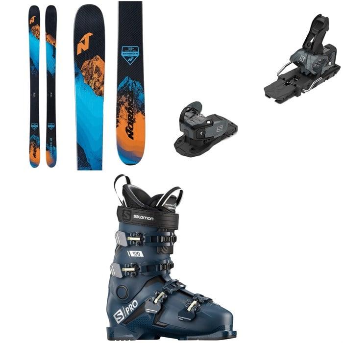 Nordica - Enforcer Free 104 Skis + Salomon Warden MNC 13 Ski Bindings + Salomon S/Pro 100 Ski Boots 2021